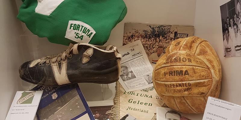 Aandacht in Fortuna Museum voor rijke clubhistorie - Staantribune