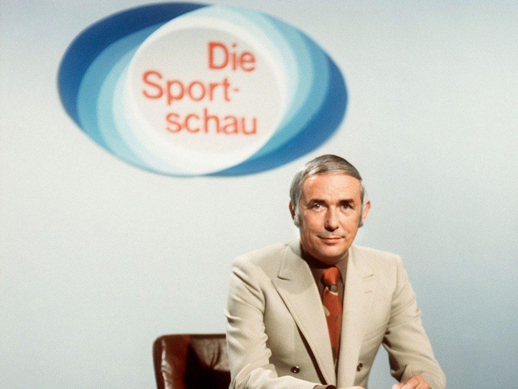 'Mr. Sportschau' Ernst Huberty