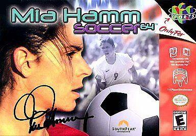 Mia Hamm Soccer - Voetballers en games: de jaren '90