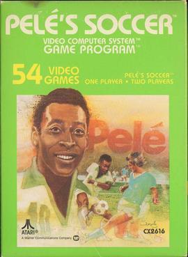 Pele's Soccer - Voetballers en games: de jaren '80