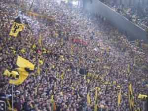 Gelbe Wand, Borussia Dortmund
