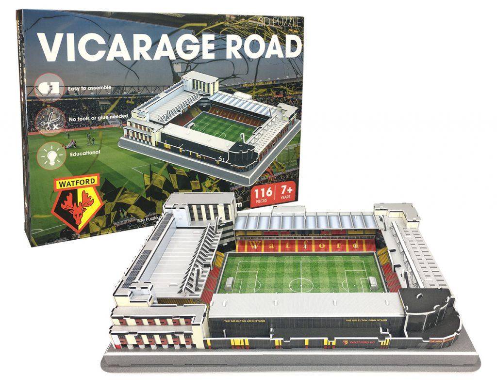 Vicarage Road puzzel