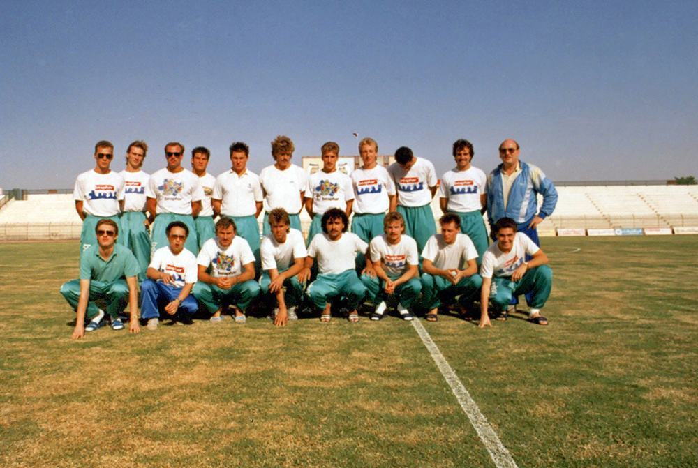 DS'79, nu FC Dordrecht, in Qatar