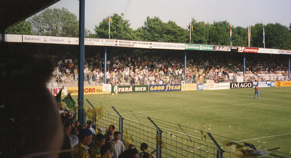 De Baandert, het oude stadion van Fortuna Sittard