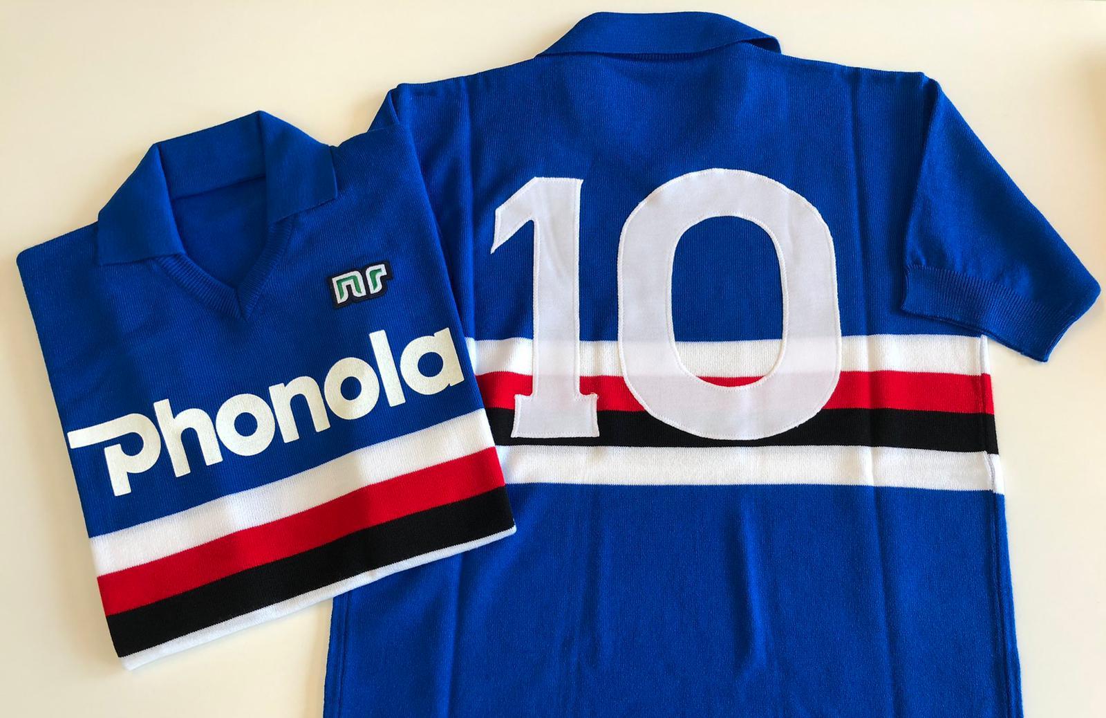 Het shirt van Sampdoria