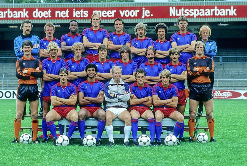 Ruud Gullit bij HFC Haarlem